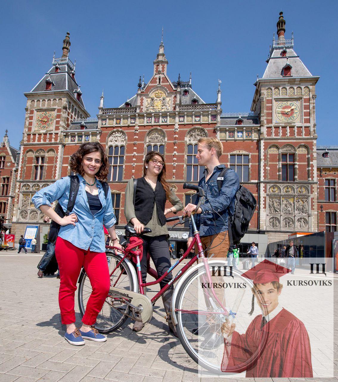 Обучение английскому языку в амстердаме фото