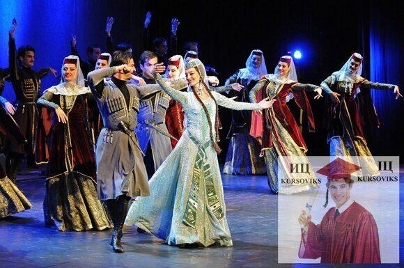 Грузинське-народне-хореографічне-мистецтво