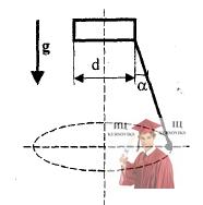 МР35, Рис. 4.16 - Шарик на невесомой нерастяжимой нити