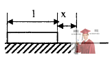 МР41, Рис. 10.3 – Доска лежит на расстоянии х от двух соприкасающихся полуплоскостей