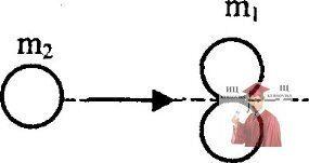 МР44, Рис. 13.6 - Два одинаковых шара покоятся на гладкой горизонтальной плоскости